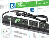 iGo Smart Power Strip Box Design
