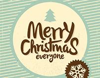 Vintage Christmas Greeting Cards // PART II