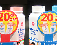 Johnson's Baby Powder Twin Pack Promo Packaging