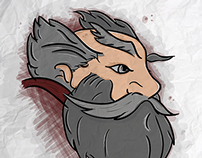 White Beard - Illustration