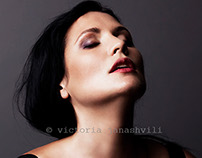 portrait shoot with Olga Galkina