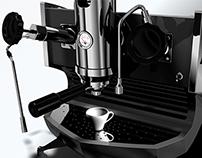 Espresso machine design