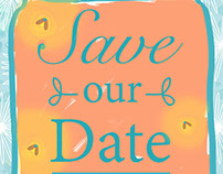 "Wedding ""Save the Date"""