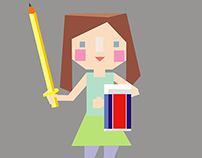 Illustration in colours set