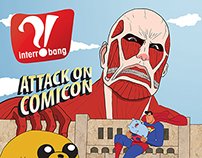 Interrobang Comic-Con Cover