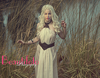 khaleesi Conseptual fine art photo shoot
