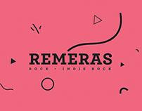 Remeras - rock | indie rock