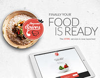Awesome Spice | Multi Cuisine Restaurant HTML Theme
