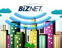 Biznet Web and Social Media Application