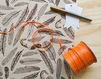 DIY: Fall Gift Wrap