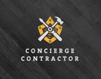Concierge Contractor Identity, Web Site and Print