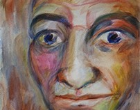 Faces in Watercolour by Kevin Geary