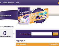 Pediasure : Pedia Health Plus Wealth Promo Website