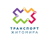 Transport of Zhytomyr. Logo & Website