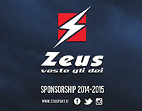 Teamsport Apparel Design for Zeus