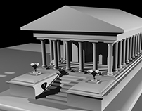 3D || Ancient Roman Building