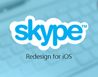 Skype Redesign for iOS