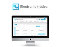 Electronic trades