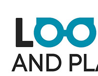 Logotype for Look and Play website