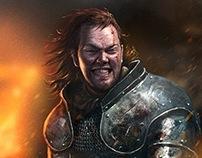 Game of Thrones Ascent Sworn Sword Character Art