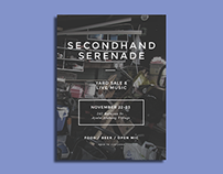 Event Poster: Secondhand Serenade