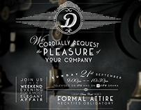 Downton Abbey Invite - ITV
