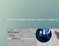 Invitation : Taseer Art Gallery
