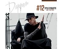 """Editorial Design """"Dapper Magazine"""" Project"""