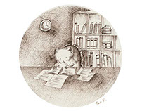 Studious Mouse