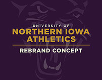 University of Northern Iowa - Athletics Rebrand Concept