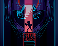 The big hero 6 movie poster