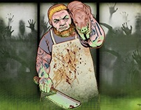 Food Junkets:  Zombie Apocalypse Cooking