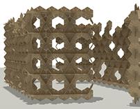 A Cardboard Pavilion