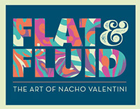 OPENING EXHIBITION FLAT & FLUID by Nacho Valentini