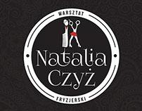 """Branding for """" Warsztat Fryzjerski Natalia Czyż"""""""
