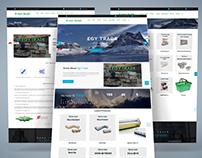 Egy4TradeBusiness / Corporate Website Design