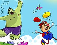 Hulk and Mario