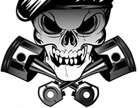 Roadskulls V-TWIN PERFORMANCE logo