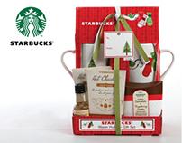 Starbucks Holiday Gift Set   Packaging Design