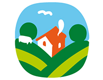 Logo and poster for Family farmers