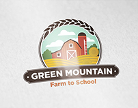 Green Mountain logo concept