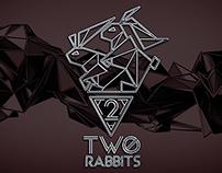 LOGO - TWO RABBITS