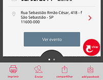 [2014] Ticket list layout for Vamo app