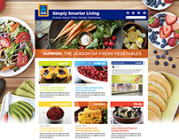Aldi Homepage Redesign