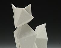 3D-Printed Fox Figurine