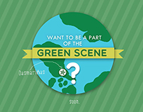 """Want to be a part of the Green Scene?"" Campaign"