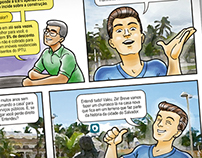 Ilustration: Foro Comic strip  |  SEFAZ BA