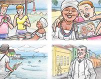Storyboard: Turism Ad Campaign | Bahiatursa