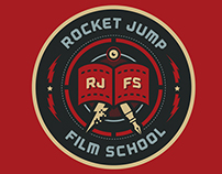 Rocket Jump Film School Branding
