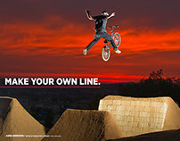 Freestyle BMX Advertising